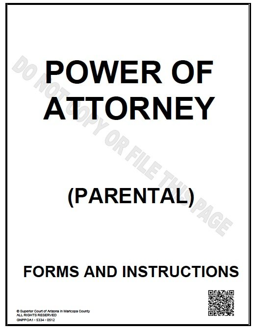 Guardianship attorney for Temporary power of attorney template